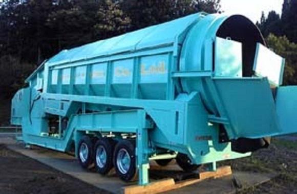 移動式分別機 「トロンメル 830」